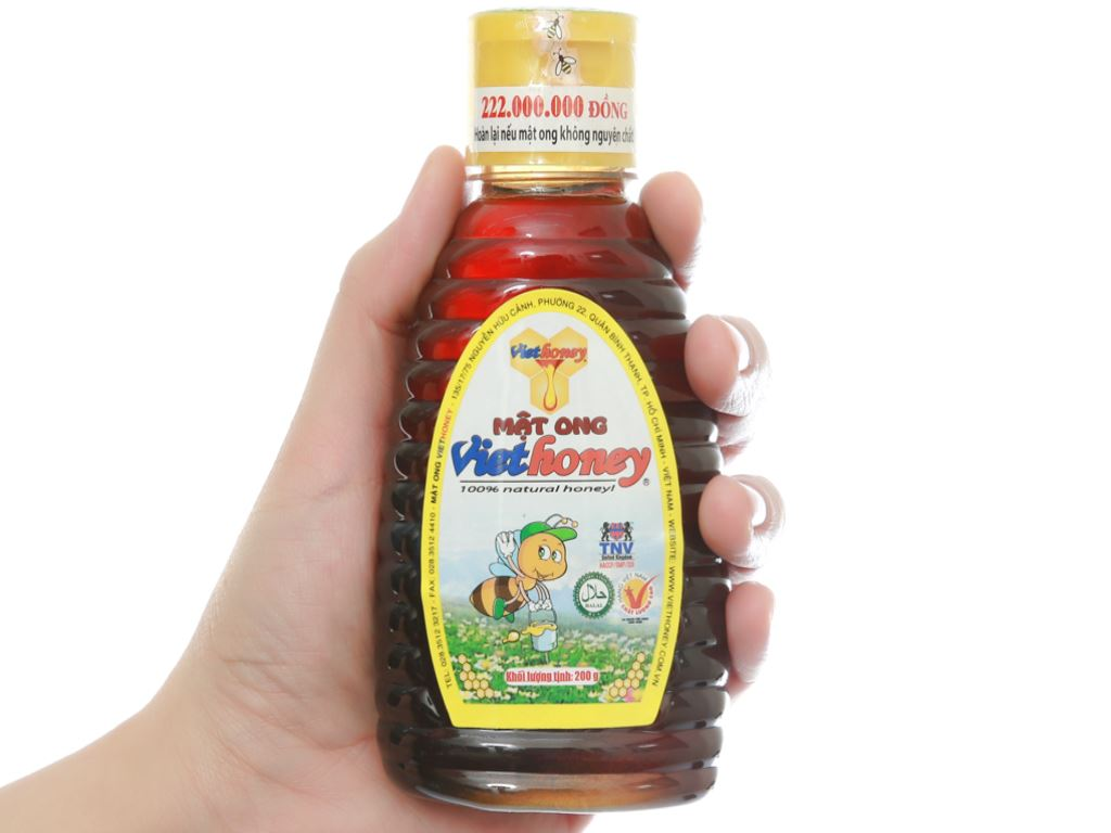 Mật ong Viethoney chai 200g 5