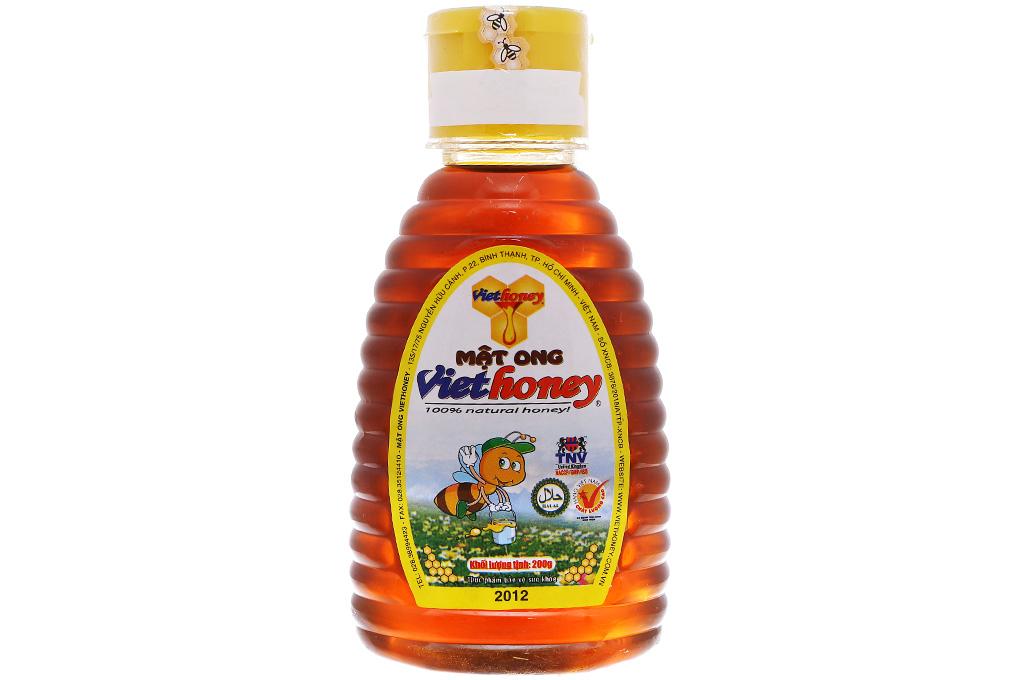 Mật ong Viethoney chai 200g 2
