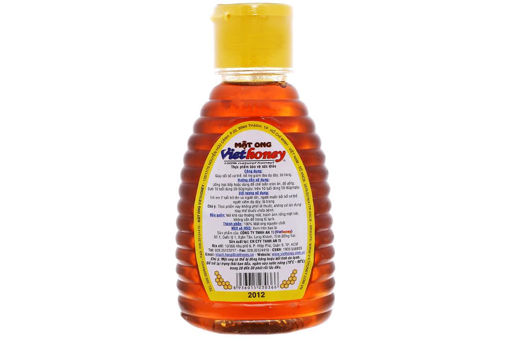 Mật ong Viethoney chai 200g 3