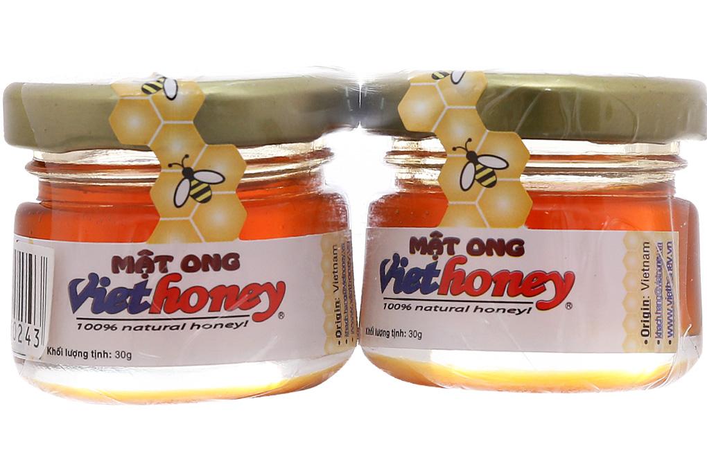 Mật ong Viethoney lốc 30g x 2 hũ 2