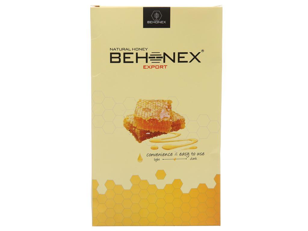 Mật ong thiên nhiên Behonex 25g x 12 gói 2