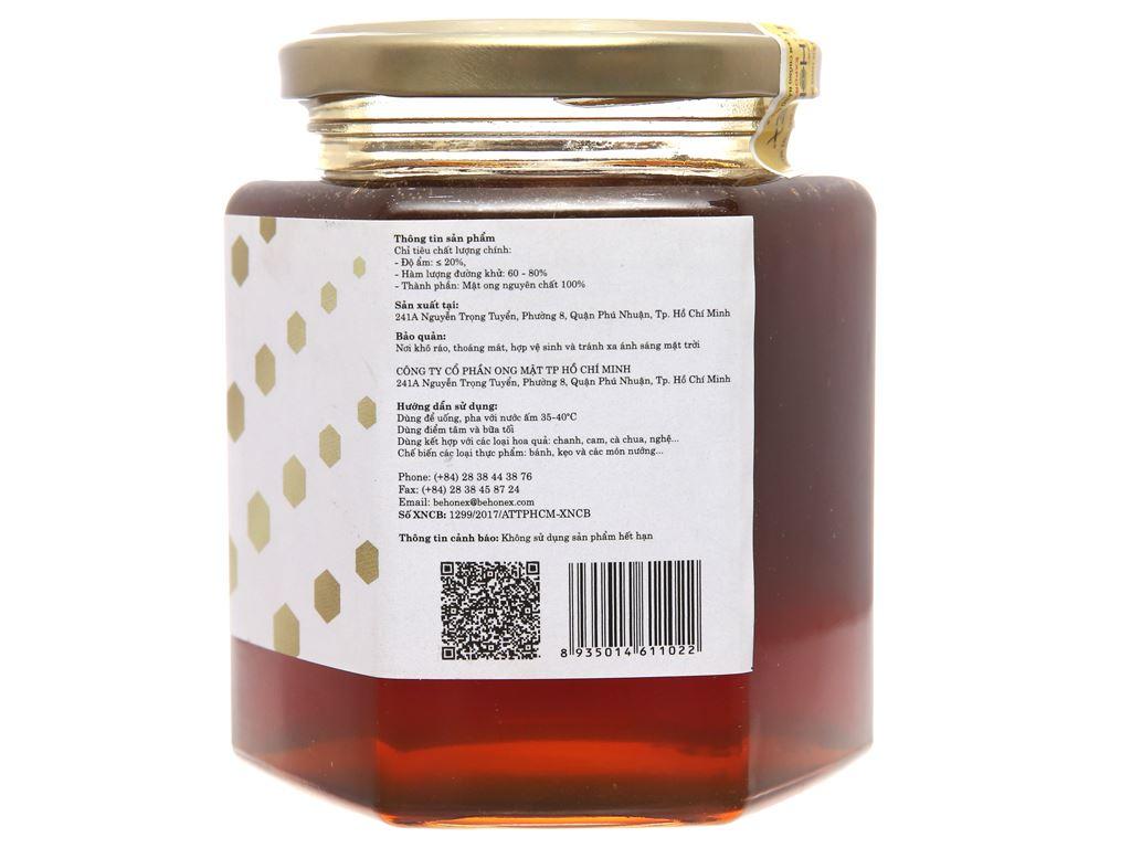 Mật ong thiên nhiên Behonex hũ 380ml 2