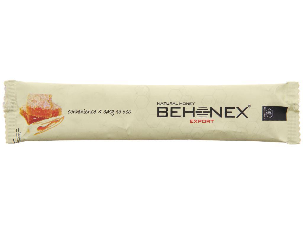 Mật ong thiên nhiên Behonex gói 25g 1