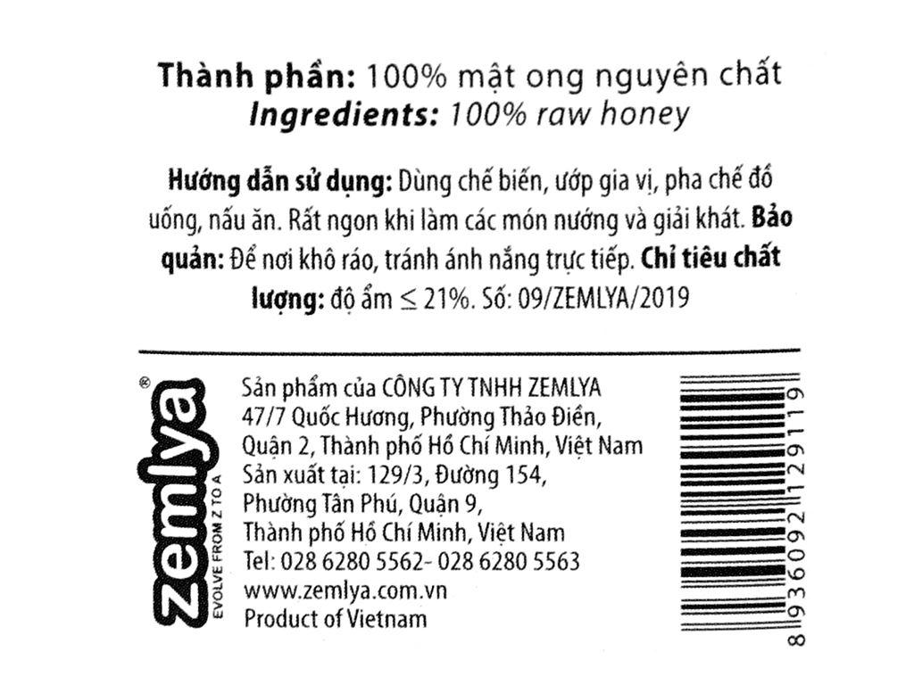Mật ong nhiệt đới Honimore chai 300g 3