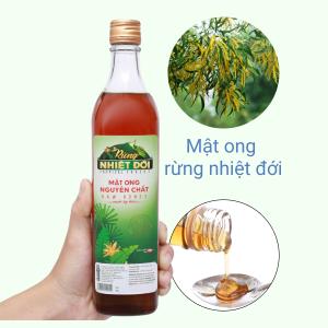 Mật ong nguyên chất Rừng Nhiệt Đới chai 700g