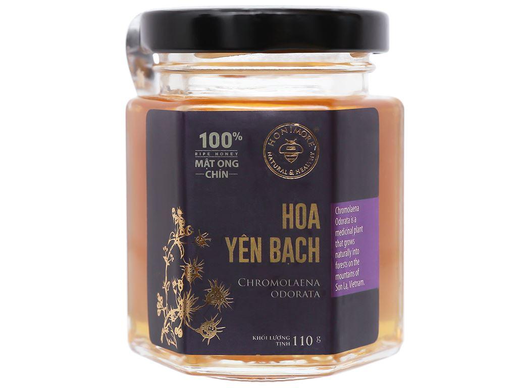 Mật ong chín hoa yên bạch Honimore hũ 110g 1