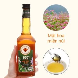 Mật ong chín hoa miền núi Honimore chai 630g