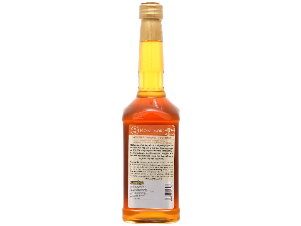 Mật ong chín hoa cao nguyên Honimore chai 630g 3