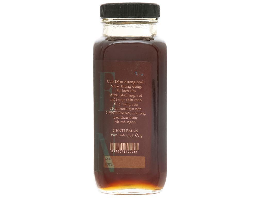 Mật ong cao thảo dược Honimore Gentleman hũ 310g 2