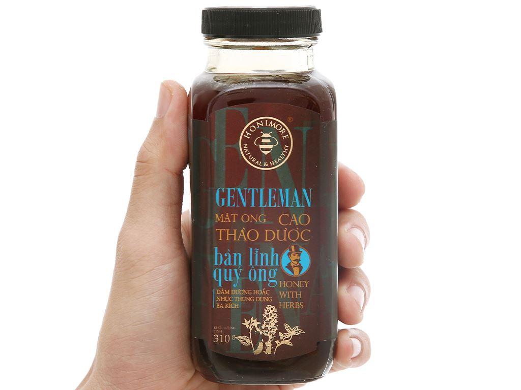 Mật ong cao thảo dược Honimore Gentleman hũ 310g 6
