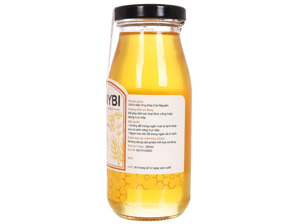Mật ong hoa cao nguyên Honybi hũ 250ml 2