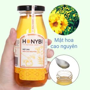 Mật ong hoa cao nguyên Honybi hũ 250ml