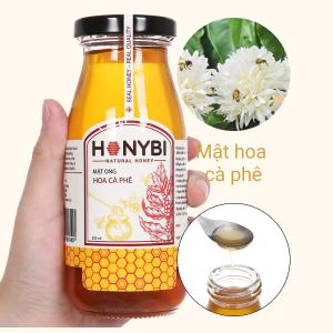 Mật ong hoa cà phê Honybi hũ 250ml