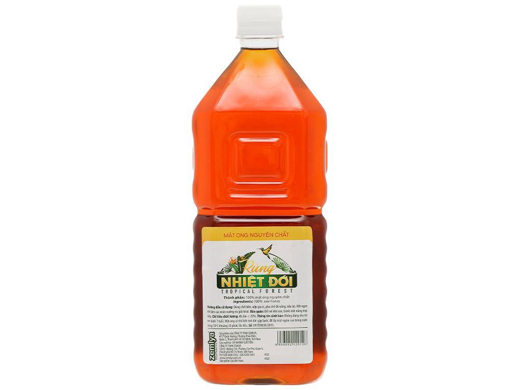 Mật ong nguyên chất Rừng Nhiệt Đới chai 1350g 2