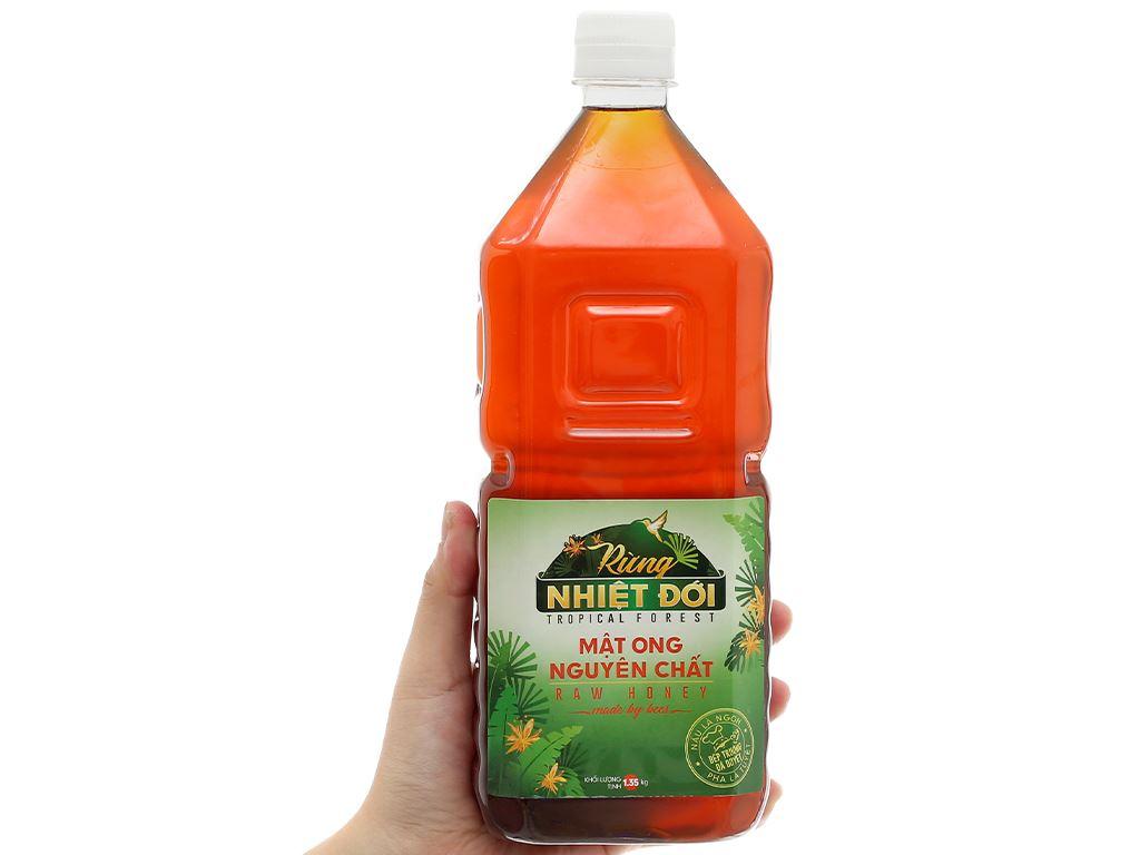 Mật ong nguyên chất Rừng Nhiệt Đới chai 1350g 5