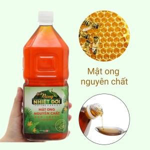 Mật ong nguyên chất Rừng Nhiệt Đới chai 1350g