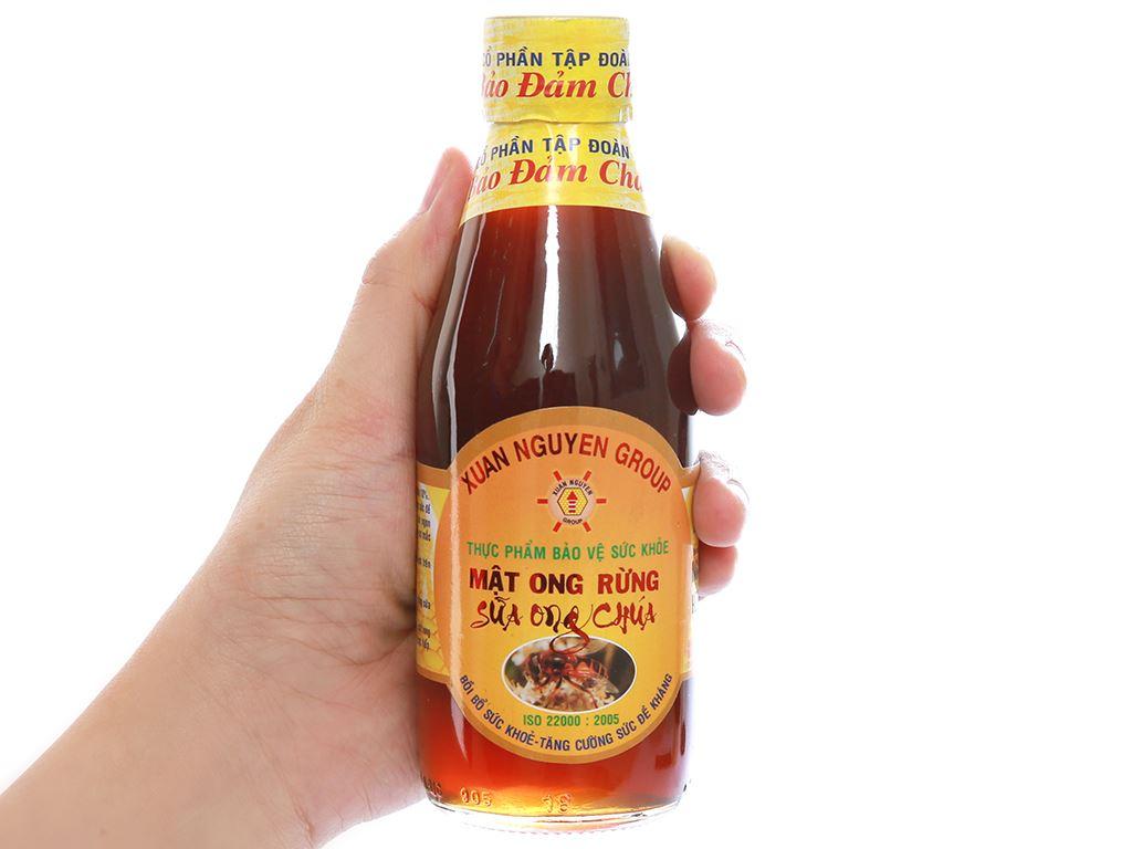 Mật ong rừng sữa ong chúa Xuân Nguyên chai 200ml 5