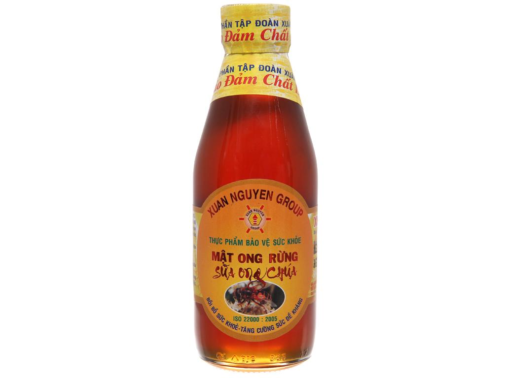 Mật ong rừng sữa ong chúa Xuân Nguyên chai 200ml 2