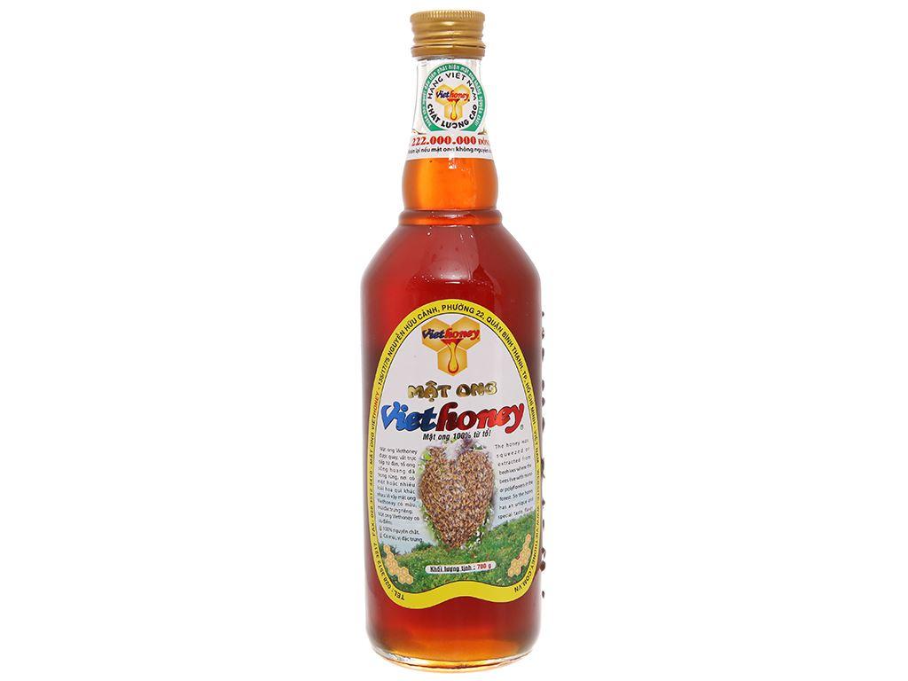 Mật ong Viethoney chai 700g 1