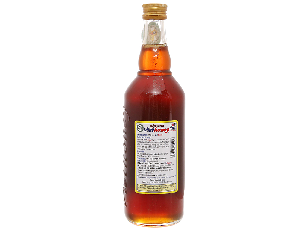Mật ong Viethoney chai 700g 2