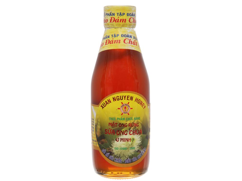 Mật ong rừng sữa ong chúa U Minh Xuân Nguyên chai 200ml 2