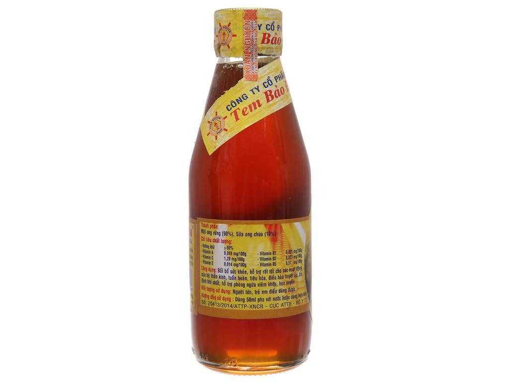 Mật ong rừng sữa ong chúa U Minh Xuân Nguyên chai 200ml 3