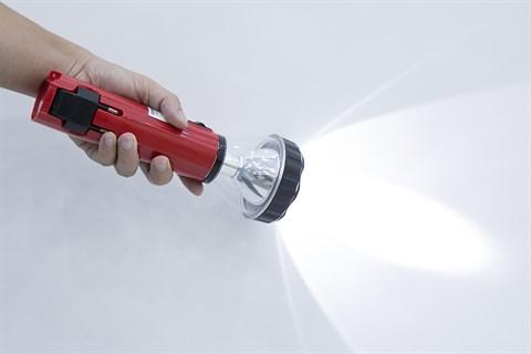 Đèn pin sạc đa năng DMX DS003 Đỏ