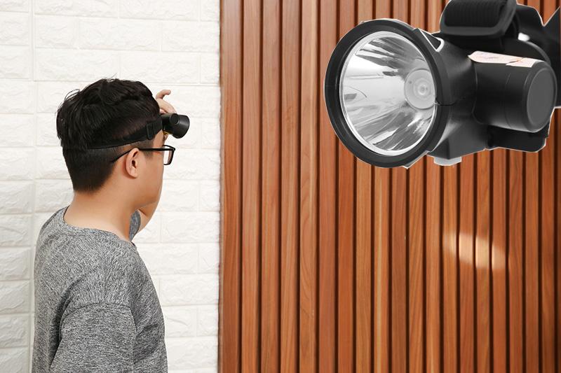 Chiếu sáng bằng đèn Led - Đèn pin đội đầu YAGE YG-U107