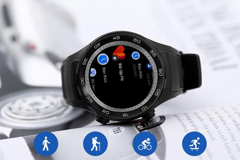Đồng hồ thông minh Huawei Watch 2 - Các chế độ luyện tập