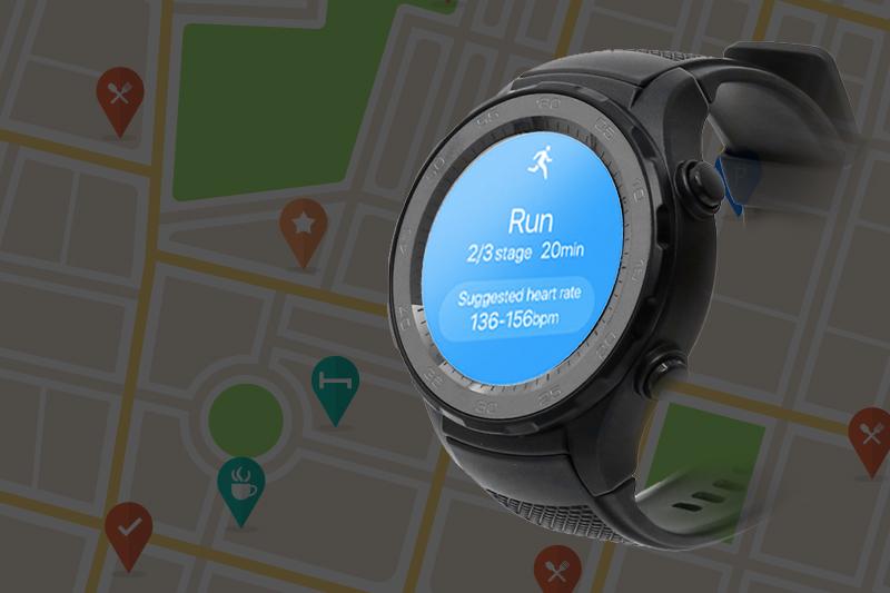 Đồng hồ thông minh Huawei Watch 2 - Tính năng GPS