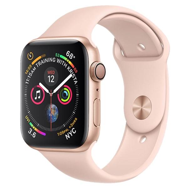Apple Watch S4 GPS 40mm Viền Nhôm dây cao su màu hồng (MU682VN/A)
