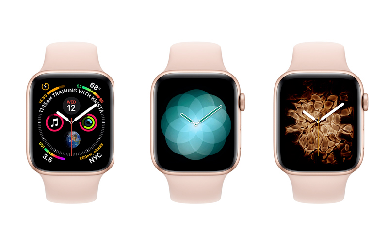 Apple Watch S4 GPS 44mm Viền nhôm (MU6F2VN/A) - mặt đồng hồ