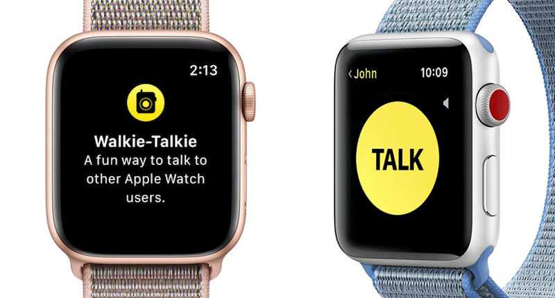 Apple Watch S4 GPS 40mm (MU692VN/A) - walkie talkie