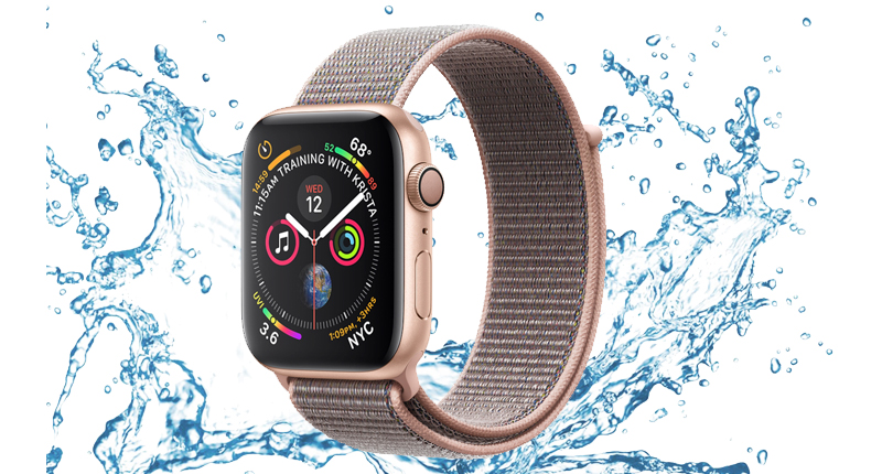 Apple Watch S4 GPS 40mm (MU692VN/A) - chống nước
