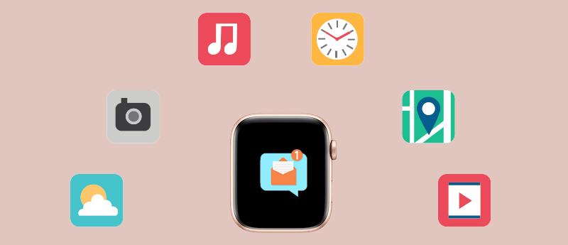 Apple Watch S4 GPS 40mm (MU692VN/A) - thông báo