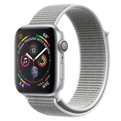 Apple Watch S4 GPS 40mm viền nhôm màu bạc dây vải (MU652VN/A)