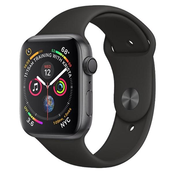 Apple Watch S4 GPS 40mm viền nhôm dây cao su màu xám (MU662VN/A)