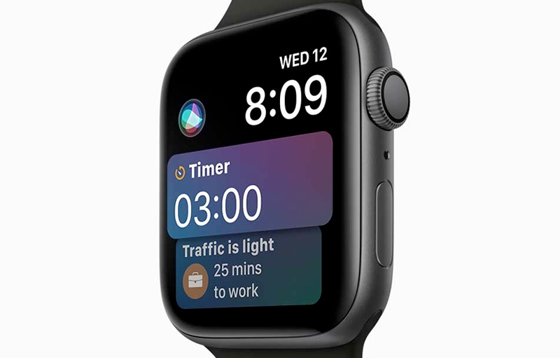 Apple Watch S4 GPS 40mm space Grey (MU662VN/A) - thiết kế