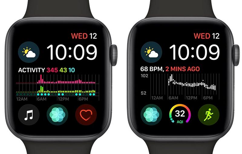 Apple Watch S4 GPS 40mm space Grey (MU662VN/A) - tiện ích sức khoẻ