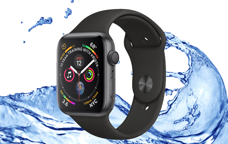 Apple Watch S4 GPS 40mm space Grey (MU662VN/A) - chống nước