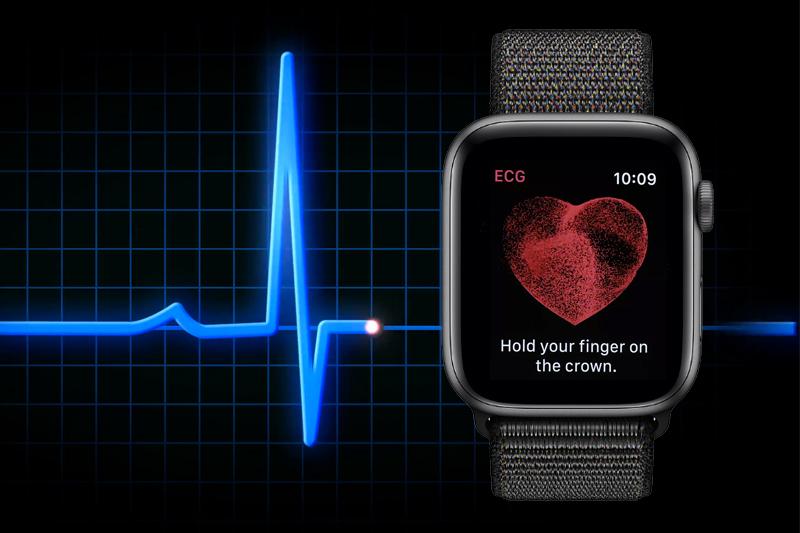 Apple Watch S4 GPS 40mm space grey (MU672VN/A) - sức khoẻ