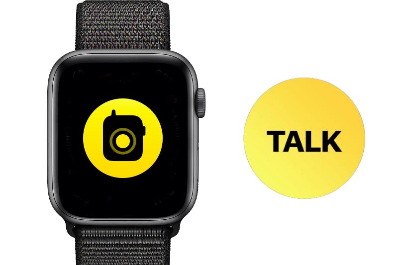 Apple Watch S4 GPS 40mm space grey (MU672VN/A) - walkie talkie
