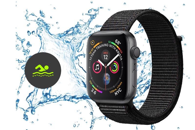 Apple Watch S4 GPS 40mm space grey (MU672VN/A) - chống nước