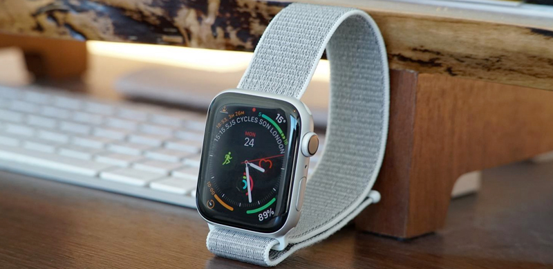 Apple Watch S4 GPS 44mm silver (MU6C2VN/A) - thiết kế