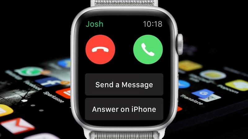 Apple Watch S4 GPS 44mm silver (MU6C2VN/A) - thông báo