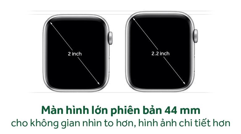 Apple Watch S4 GPS 44mm viền nhôm dây cao su màu trắng (MU6A2VN/A) –  vinhhoang.com