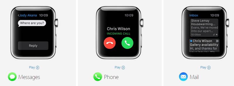 Apple Watch S4 GPS 44mm silver (MU6A2VN/A) - thông báo