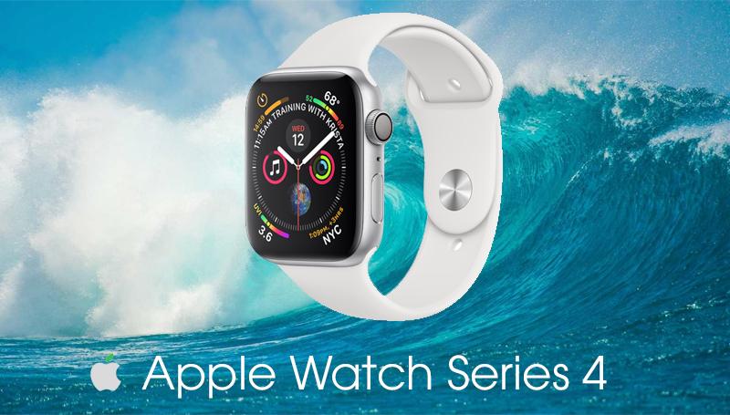 Apple Watch S4 GPS 44mm silver (MU6A2VN/A) - chống nước