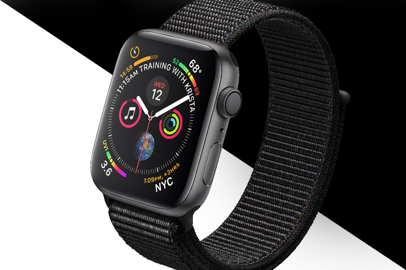 Apple Watch S4 GPS 44mm space grey (MU6E2VN/A) - thiết kế