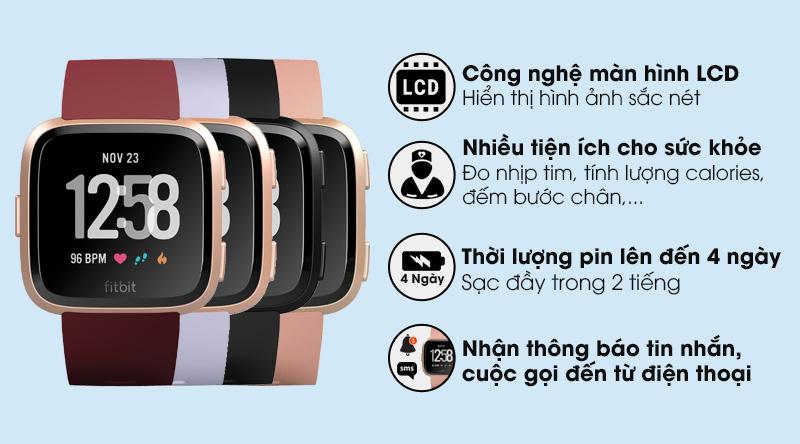 Đồng hồ thông minh Fitbit Versa 3